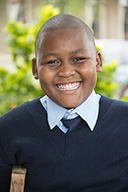 Oscar, one of the children supported by the Shika Sponsorship programme